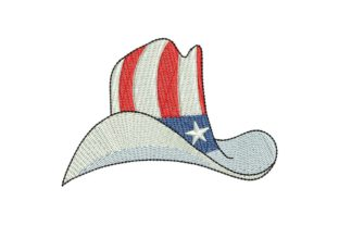 4th July Cowboy 04 Independence Day Embroidery Design By BabyNucci Embroidery Designs