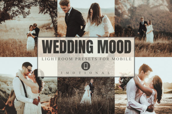 Download Free 8 Wedding Mood Mobile Lightroom Presets Graphic By 3motional Creative Fabrica for Cricut Explore, Silhouette and other cutting machines.