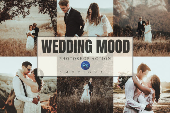 Download Free 8 Wedding Mood Photoshop Actions Graphic By 3motional Creative for Cricut Explore, Silhouette and other cutting machines.
