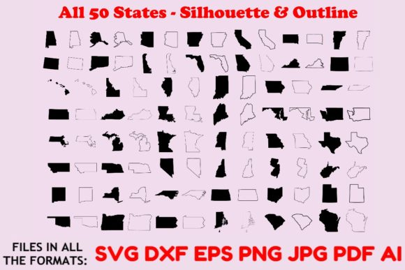 Download Free 1 Usa States Svg Designs Graphics for Cricut Explore, Silhouette and other cutting machines.