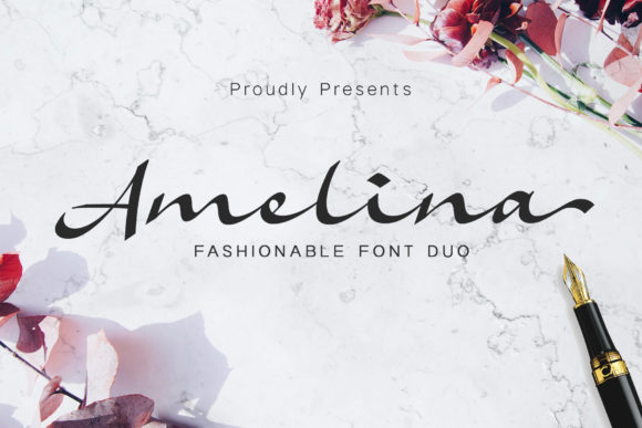 Amelina Font Free Download