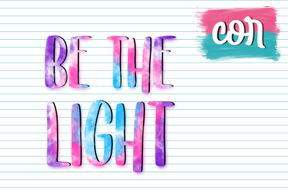 Be The Light Graphic By Designscor Creative Fabrica