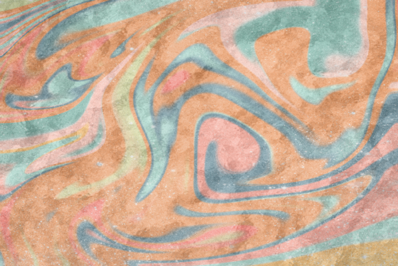 Print on Demand: Beautiful Marble Swirl Watercolor Graphic Backgrounds By AM Digital Designs