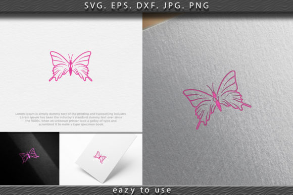 Print on Demand: Beauty Butterfly Logo Ideas. Inspiration Graphic Logos By ojosujono96