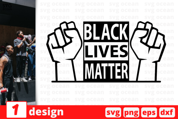Download Free Black Lives Matter Graphic By Svgocean Creative Fabrica for Cricut Explore, Silhouette and other cutting machines.