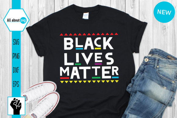 Download Free Black Lives Matter Graphic By All About Svg Creative Fabrica for Cricut Explore, Silhouette and other cutting machines.