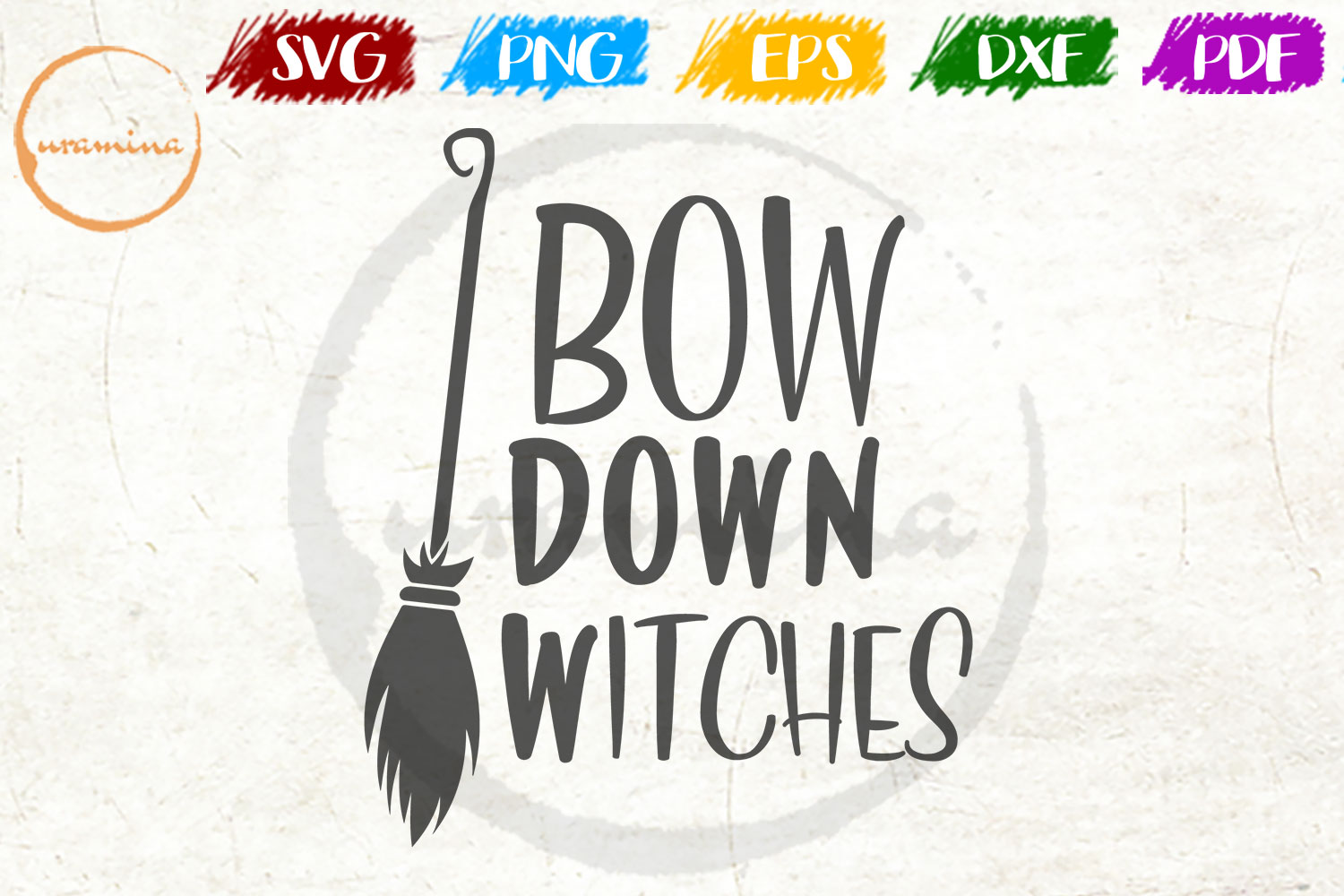 Download Free Bow Down Witches Graphic By Uramina Creative Fabrica for Cricut Explore, Silhouette and other cutting machines.