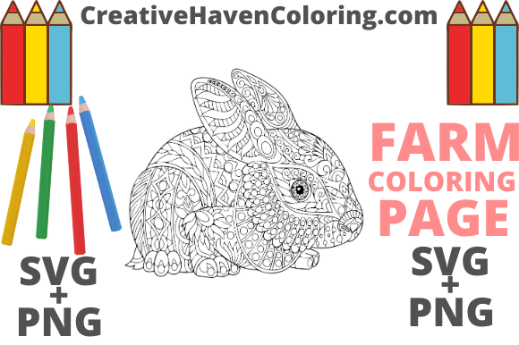Download Free Country Farm Coloring Page 7 Graphic By Creativehavencoloring SVG Cut Files
