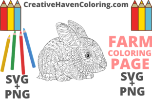 Download Free Country Farm Coloring Page 7 Graphic By Creativehavencoloring for Cricut Explore, Silhouette and other cutting machines.