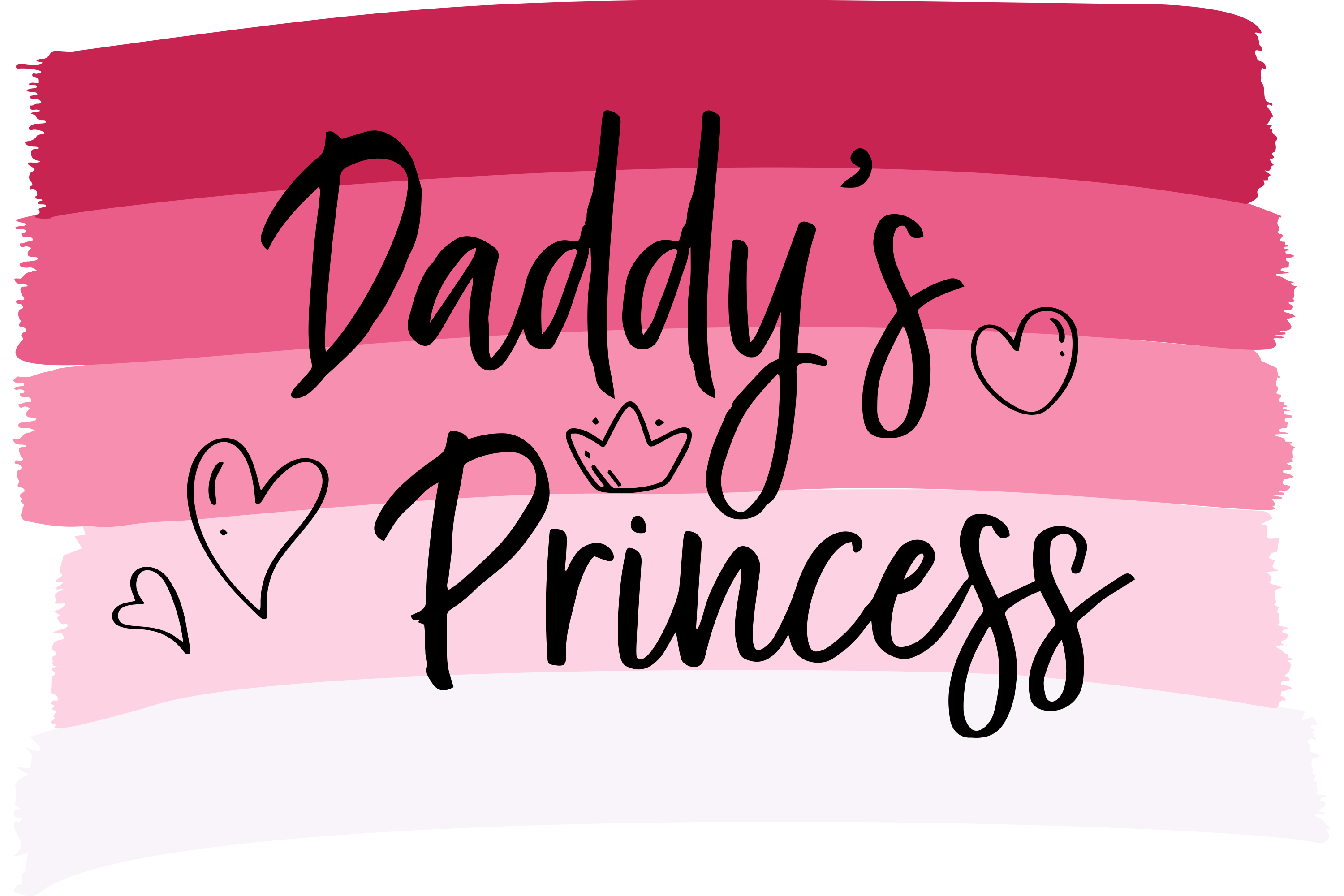 Download Free Daddy S Princess Father S Day Gift Graphic By Am Digital Designs for Cricut Explore, Silhouette and other cutting machines.