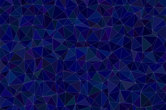 Dark Blue Triangle Polygon Background Graphic Backgrounds By davidzydd