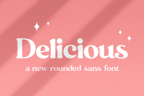 Print on Demand: Delicious Display Font By Salt & Pepper Designs