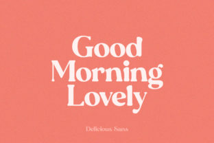 Print on Demand: Delicious Display Font By Salt and Pepper Fonts 5
