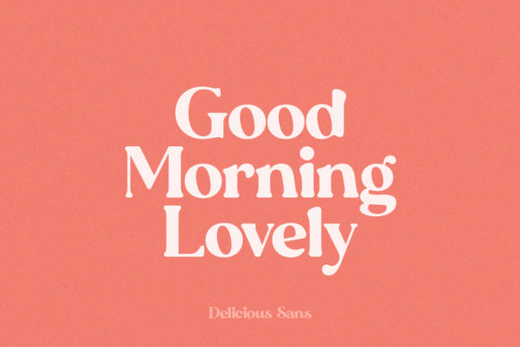 Print on Demand: Delicious Display Font By Salt & Pepper Designs - Image 5
