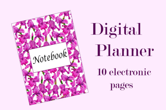 Digital Watercolor Planner A5 Graphic Illustrations By shishkovaiv