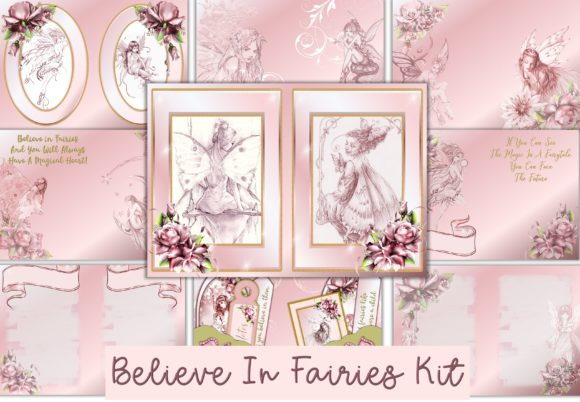 Print on Demand: Fairy Journal Kit with Ephemera Graphic Crafts By The Paper Princess
