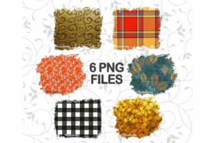 Print on Demand: Fall Sublimation Background Bundle Graphic Backgrounds By Mockup Station