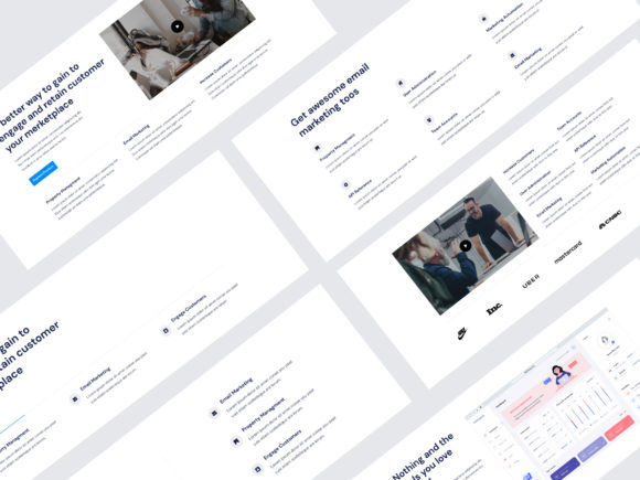 Features UI KIT Graphic UX and UI Kits By artgalaxy