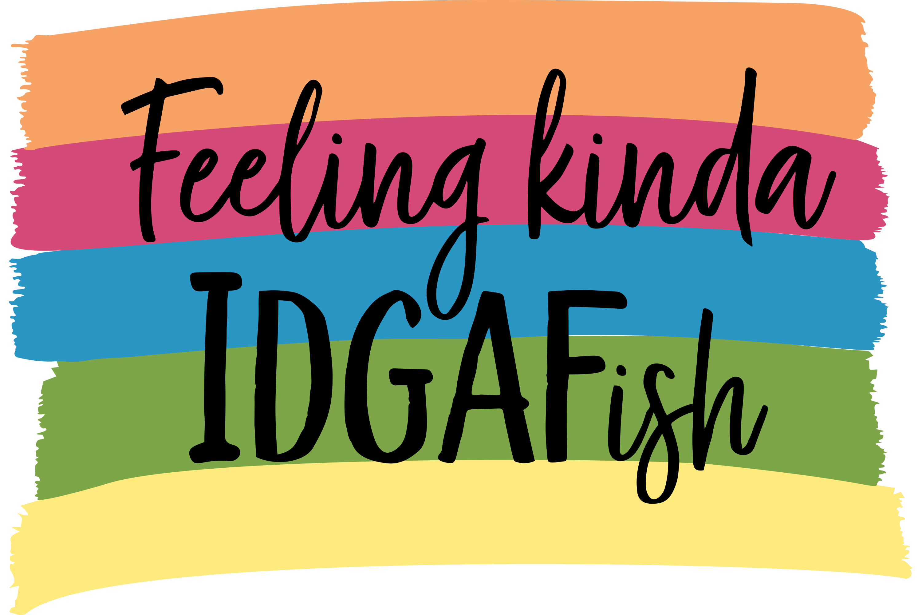 Download Free Feeling Kinda Idgafish Funny Graphic By Am Digital Designs SVG Cut Files
