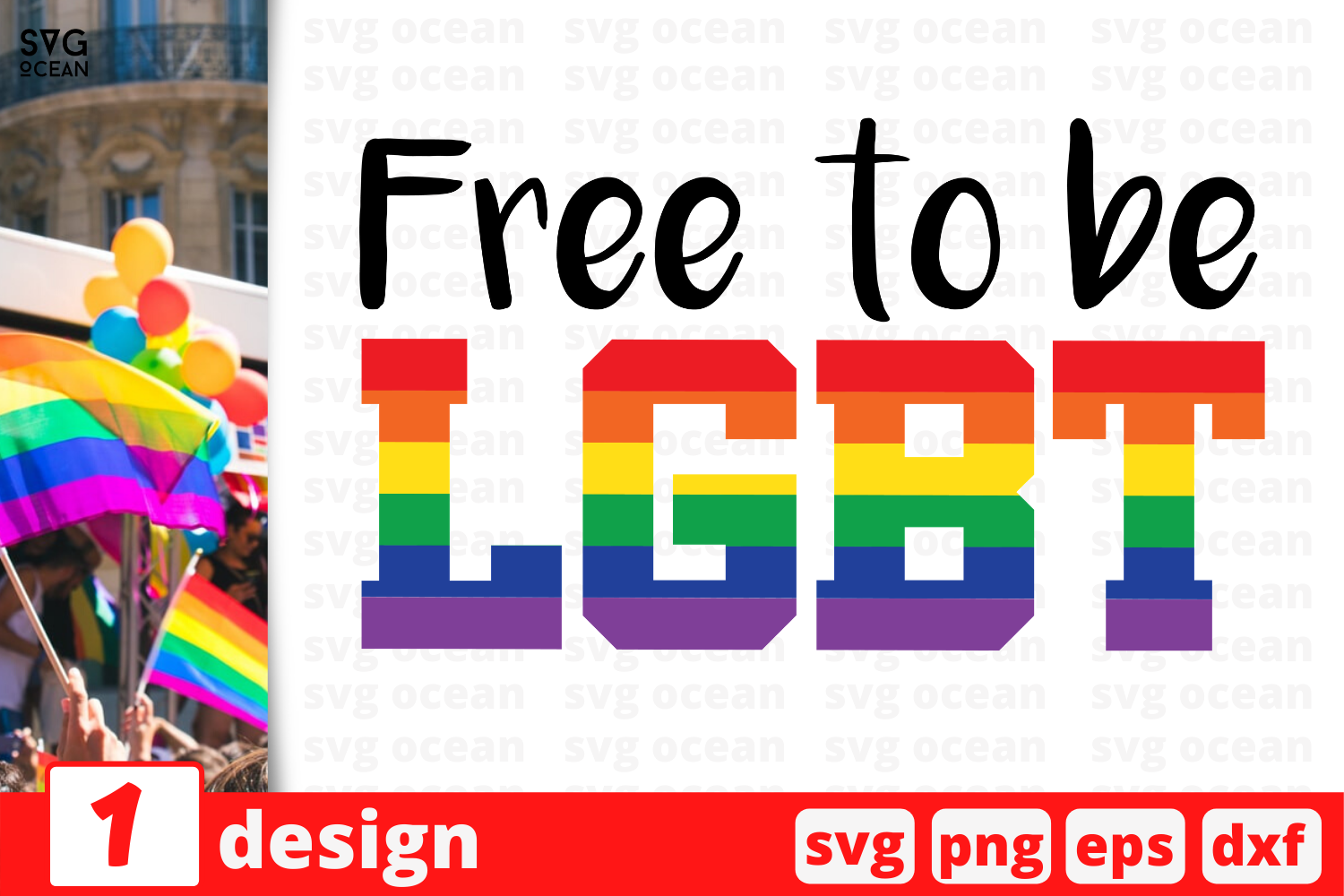 Download Free Free To Be Lgbt Graphic By Svgocean Creative Fabrica for Cricut Explore, Silhouette and other cutting machines.