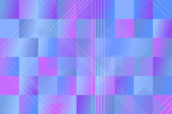 Gradient Mosaic Square Web Background Graphic Backgrounds By davidzydd