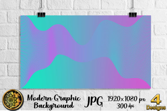 Download Free Graphic Design Wave Line Art Background Graphic By V Design for Cricut Explore, Silhouette and other cutting machines.
