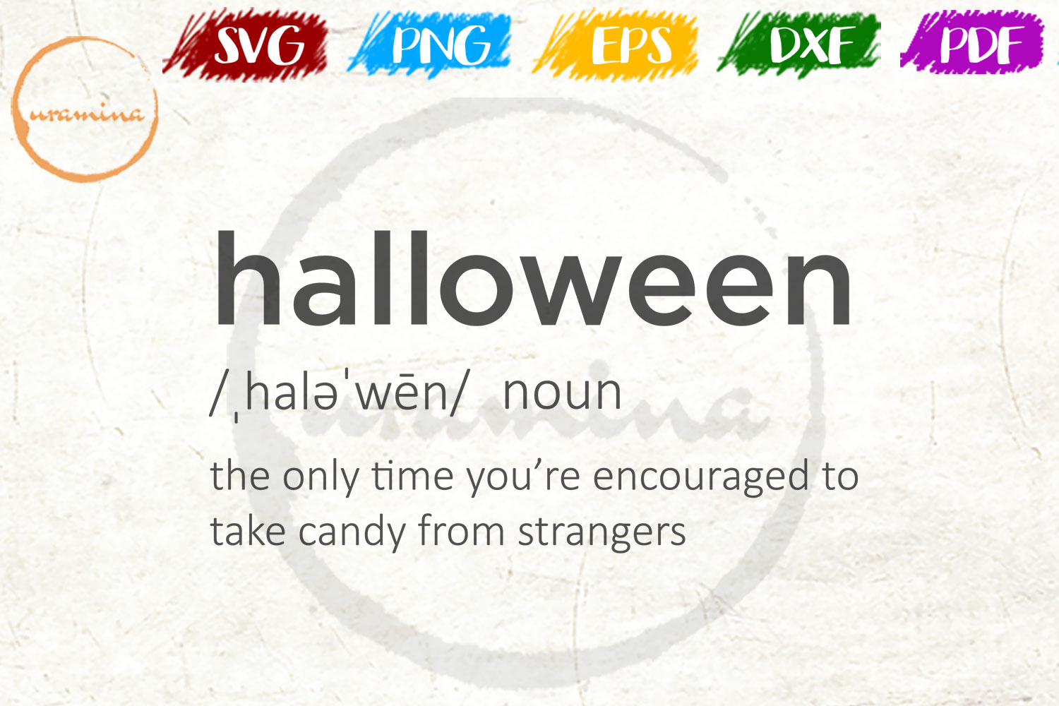 Halloween The Only Time You Re Graphic By Uramina Creative Fabrica