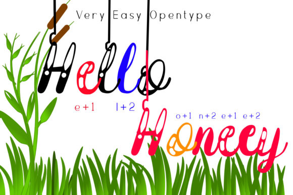 Download Free Hanging Darling Font By Setiyadissi Creative Fabrica for Cricut Explore, Silhouette and other cutting machines.