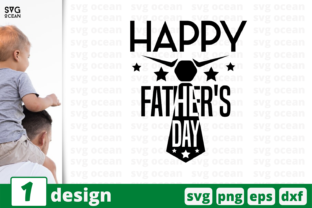 Download Free Happy Father S Day Graphic By Svgocean Creative Fabrica for Cricut Explore, Silhouette and other cutting machines.