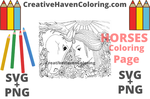 Download Free Summer Coloring Page 1 Graphic By Creativehavencoloring SVG Cut Files