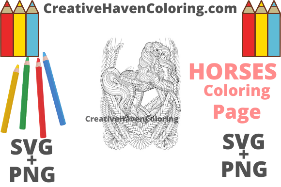 Download Free Unicorn Coloring Page 13 Graphic By Creativehavencoloring for Cricut Explore, Silhouette and other cutting machines.