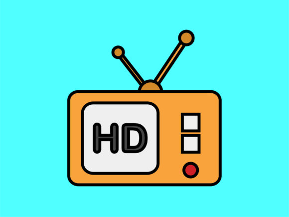 Download Free Icon Old Television Simple Graphic By Meandmydate Creative Fabrica for Cricut Explore, Silhouette and other cutting machines.
