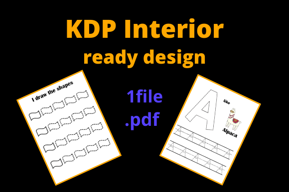 Print on Demand: KDP Intérior Learn to Draw the Alphabet Graphic KDP Interiors By Dunkyshot