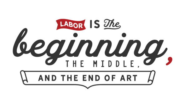 Print on Demand: Labor is the Beginning Graphic Illustrations By baraeiji