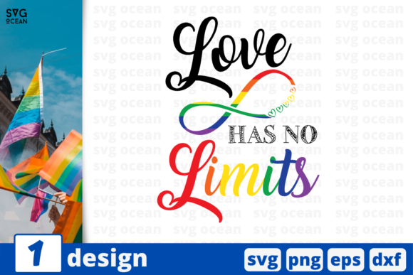 Download Free Love Has No Limits Graphic By Svgocean Creative Fabrica for Cricut Explore, Silhouette and other cutting machines.
