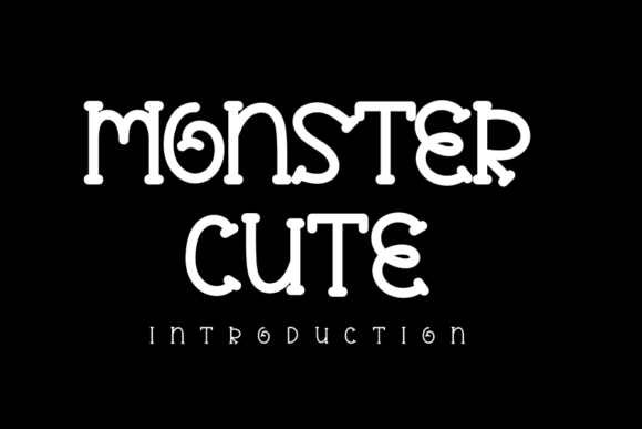 Monster Cute Font Free Download
