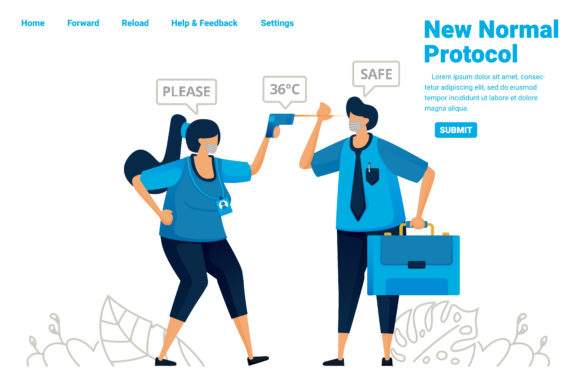 Download Free New Normal Pandemic Protocol For Work Graphic By for Cricut Explore, Silhouette and other cutting machines.