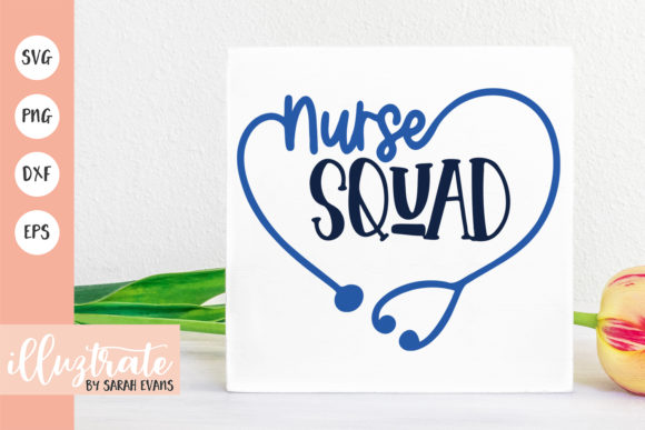 Download Free Nurse Squad Graphic By Illuztrate Creative Fabrica for Cricut Explore, Silhouette and other cutting machines.