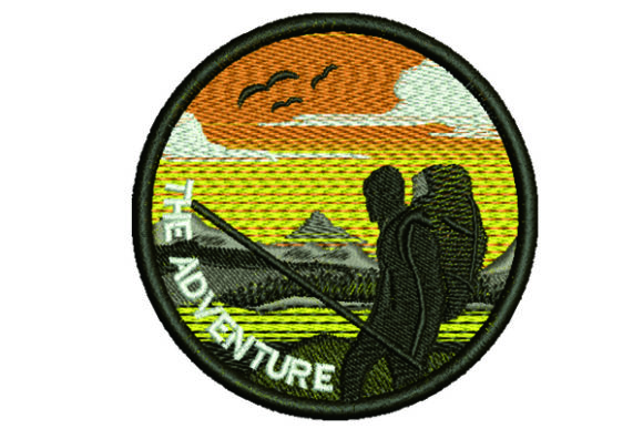 Patch Adventure Hobbies & Sports Embroidery Design By Samsul Huda