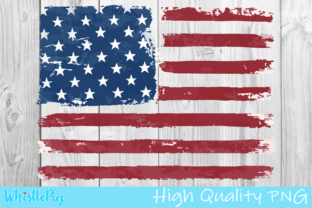 Print on Demand: Patriot  American Flag July 4th Graphic Crafts By Whistlepig Designs
