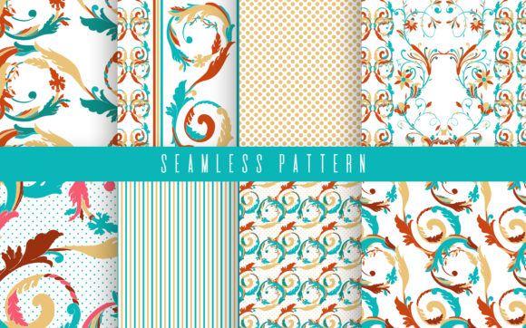 Download Free Ice Cream Seamless Pattern Set Graphic By Arina Ulyasheva for Cricut Explore, Silhouette and other cutting machines.