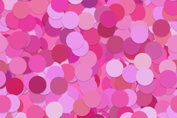 Download Free Pink Abstract Seamless Circle Pattern Graphic By Davidzydd for Cricut Explore, Silhouette and other cutting machines.