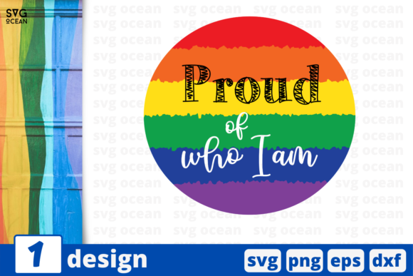 Download Free Proud Of Who I Am Graphic By Svgocean Creative Fabrica SVG Cut Files