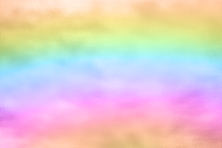 Print on Demand: Rainbow Gradient Watercolor Background Graphic Backgrounds By AM Digital Designs