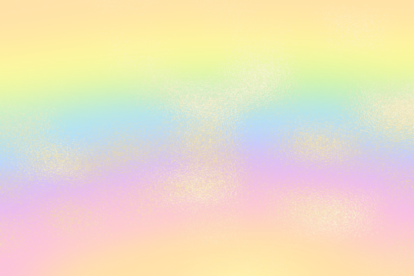 Print on Demand: Rainbow Gradient with Gold Background Graphic Backgrounds By AM Digital Designs