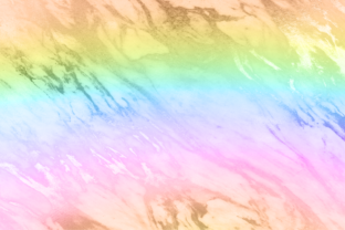 Print on Demand: Rainbow Marble Metallic Ombre Gradient Graphic Backgrounds By AM Digital Designs