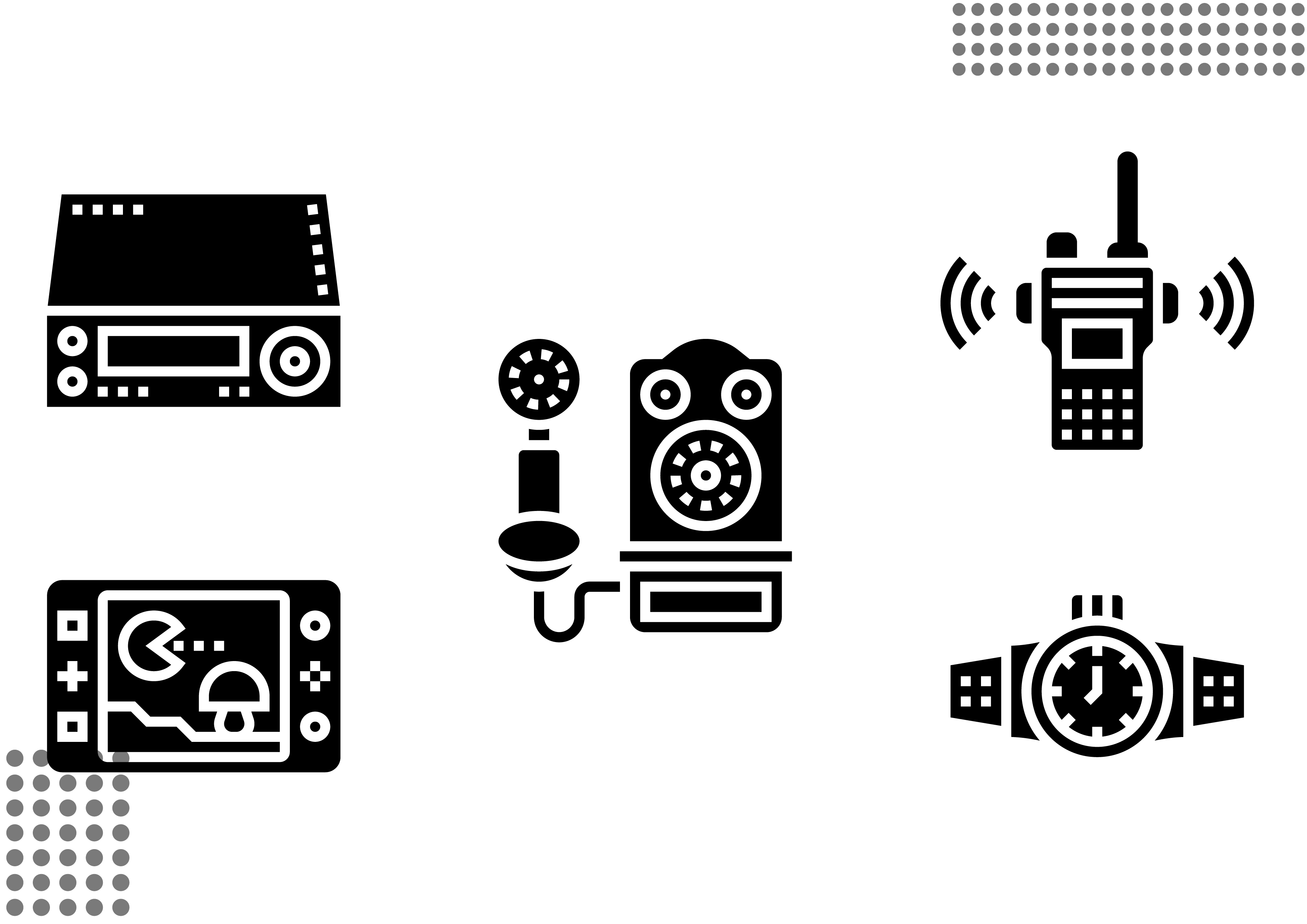 Download Free Retro Technology Fill Graphic By Cool Coolpkm3 Creative Fabrica SVG Cut Files