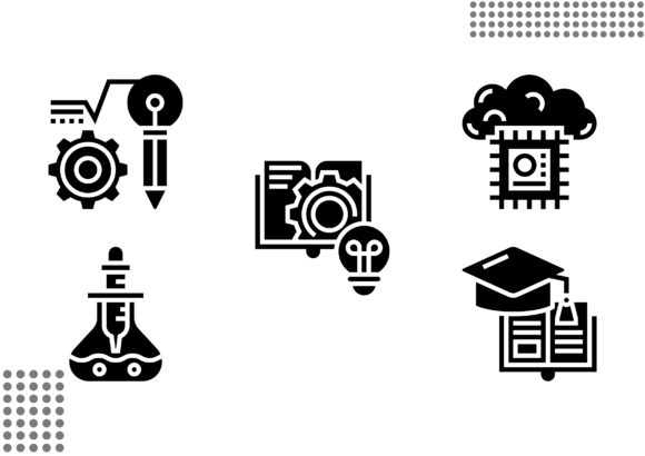 STEM Fill Graphic Icons By cool.coolpkm3