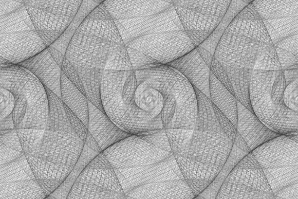 Download Free Seamless Monochrome Fractal Pattern Graphic By Davidzydd for Cricut Explore, Silhouette and other cutting machines.