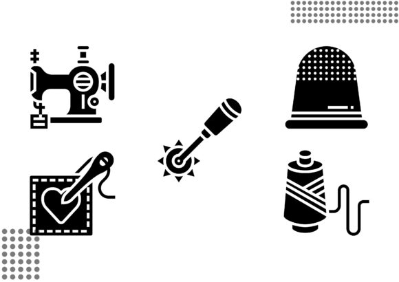 Sewing Fill Graphic Icons By cool.coolpkm3